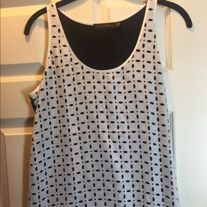 The Limited sleeveless blouse sz L